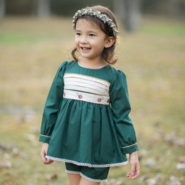 Evie's Closet         Holiday 5pc Belted Tunic Set