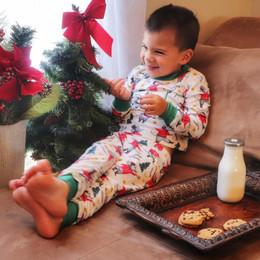 Evie's Closet         Nutcracker Boy's 2pc Pajama