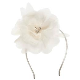Tutu Du Monde    Avant Gardens Peony Headband - Milk **PRE-ORDER**