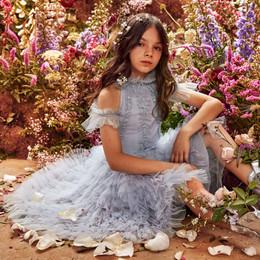 Tutu Du Monde    Avant Gardens Zinnia Tutu Dress - Bluebell