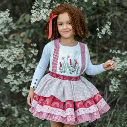 Be Girl Clothing               Wandering Fields Sidney Jumper Dress (Top Sold Separately)