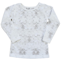 Be Girl Clothing               Wandering Fields French Vanilla Lace Top
