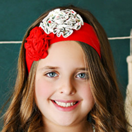 Swoon Baby by Serendipity    Winter Floral Headband - Multi
