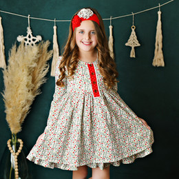 Swoon Baby by Serendipity    Winter Floral Bliss Fluer Dress