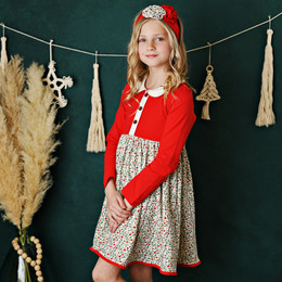 Swoon Baby by Serendipity    Winter Floral Bliss Proper Dress