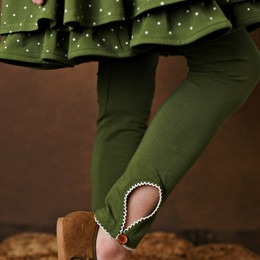 Swoon Baby by Serendipity    Vintage Olive Fluer Keyhole Legging