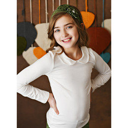 Swoon Baby by Serendipity    Proper Top w/Picot Trim - Cream **PRE-ORDER**