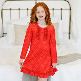 Swoon Baby by Serendipity    Winter Floral Butterknit Dottie Gown **PRE-ORDER**