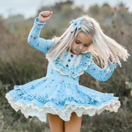 Be Girl Clothing               Dancing Leaves Brooklyn Dress **PRE-ORDER**