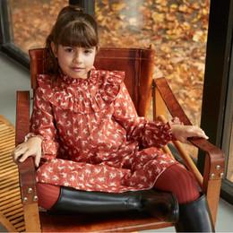 Molo         Clair Metallic Thread Woven Dress - Mini Horses