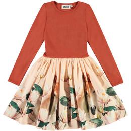 Molo         Casie Organic Knit & Woven Dress - Little Foal