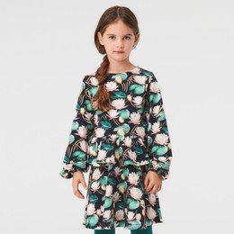 Molo         Christabelle Organic Knit Dress - Water Lillies