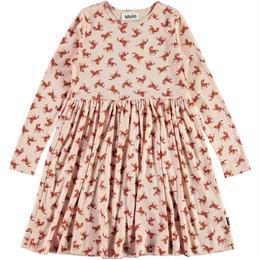 Molo         Cheyanne Organic Knit Dress - Mini Horses