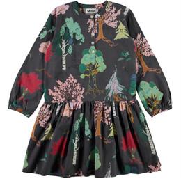 Molo         Cezanne Organic Woven Dress - Forest Friends