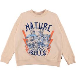 Molo         Mika Nature Rules Sweatshirt - Cameo Rose