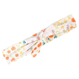 Be Girl Clothing                 Playtime Favorites Maple & Whimsy Picnic Headwrap - Autumn Botanical