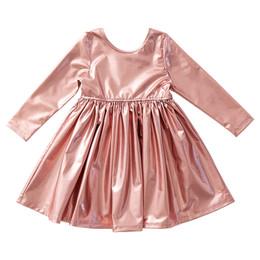 Pink Chicken       Liza Lame Dress - Dusty Pink Metallic