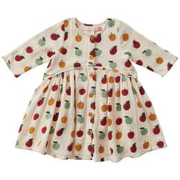 Pink Chicken       Fatima Dress - Multi Apples