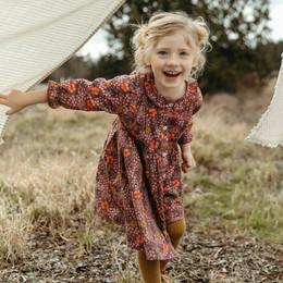 Lali Kids  Transcadental Winter Ivy Dress - Biddy Floral