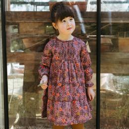 Lali Kids  Transcadental Winter Daphne Dress - Biddy Floral