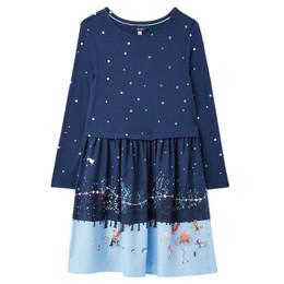 Joules Merrie Knit Dress - Stars & Woodland Scene **PRE-ORDER**
