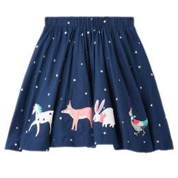 Joules Ariel Skirt - Stars & Woodland Animals **PRE-ORDER**