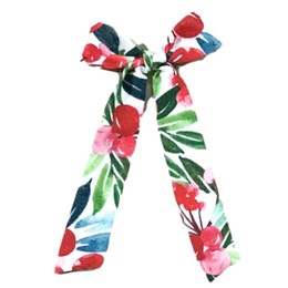 Be Girl Clothing                     Holiday Long Tail Bow - Red Berries **PRE-ORDER**