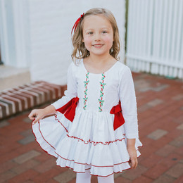 Be Girl Clothing                     Holiday Wilma Dress **PRE-ORDER**
