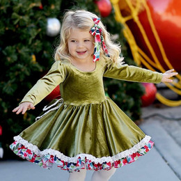 Be Girl Clothing                     Holiday Tabitha Dress **PRE-ORDER**