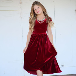 Be Girl Clothing                     Holiday Tween Ayla Dress **PRE-ORDER**
