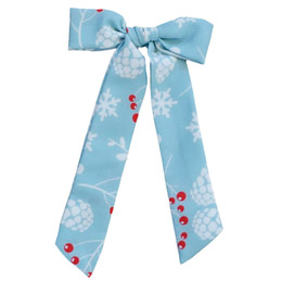 Be Girl Clothing                      Playtime Favorites Boughs Of Holly Long Tail Bow - Boughs Of Holly **PRE-ORDER**