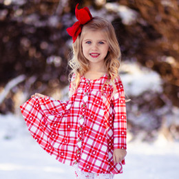Be Girl Clothing                      Playtime Favorites Boughs Of Holly Trapeze Tunic - All Is Bright **PRE-ORDER**
