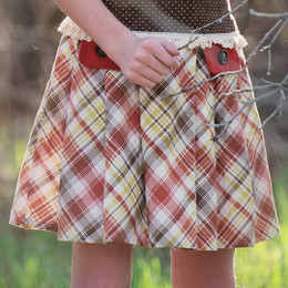 Persnickety Golden Girls Fern Skirt - Tartan