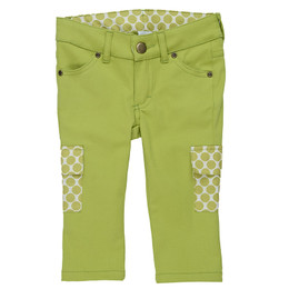 Persnickety Forget Me Not Colbie Capri - Green - sz4,5