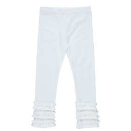 Persnickety Forget Me Not Gracie Legging - White - sz10Y
