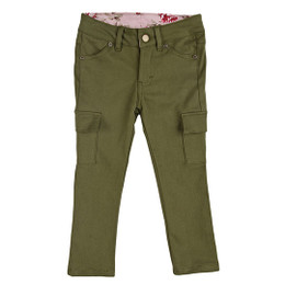 Persnickety Emerald Pine Skinny Jean - Green - sz12M