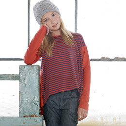 Persnickety Penny Lane Scout Tunic - Stripe (2Y-16Y)