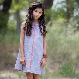 Persnickety Wonderstruck Kara Dress - Gray