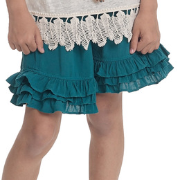 Persnickety Wonderstruck Felicity Short - Teal - 12-18M