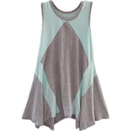 Isobella & Chloe Janelle A-line Sleeveless Dress - Tiffany