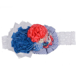 Persnickety Wild Flower Talma Headband - Blue - szL
