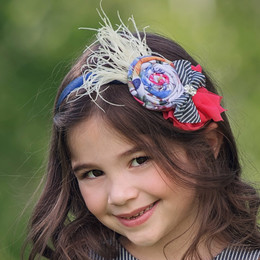 Persnickety Wild Flower Rilla Headband - Multi