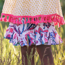 Persnickety Wild Flower Mae Short - Multi
