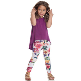 Persnickety Salty Kisses & Sandy Toes Juliet Top - Purple