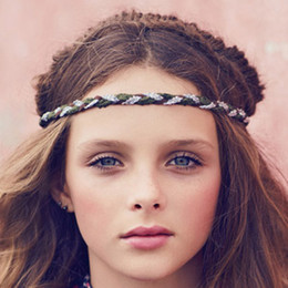 Jak & Peppar Hannah Braided Headband - Olive
