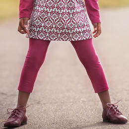 Persnickety Double Dutch Erin Legging - Red - sz6-12M