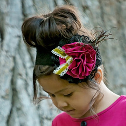Persnickety World Market Thea Headband - Pink