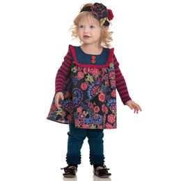 Persnickety World Market Sara Top - Multi - sz3-6M