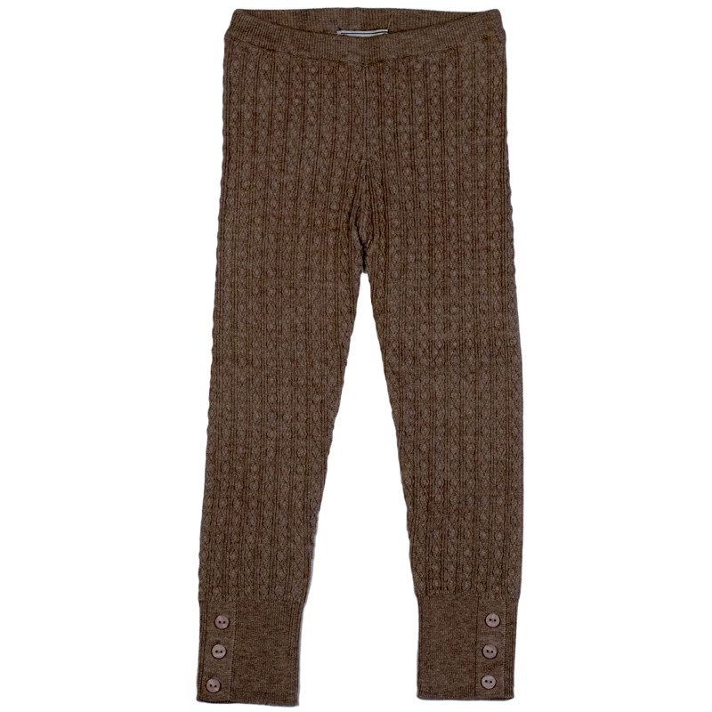ba269803bc2f65 ... Mayoral Cable Knit Leggings w/Button Accents - Topo Vig. Image 1