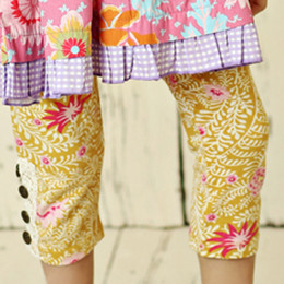 Mustard Pie Summer Magnolia Sargent Leggings